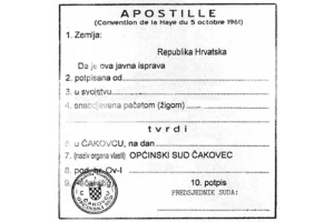 Što je apostille?
